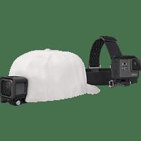 GOPRO Kopfband + QuickClip (ACHOM-001), Halterung, Schwarz, passend für GoPro Actioncams
