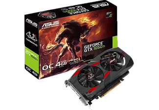 ASUS GeForce® GTX 1050 Ti Cerberus OC 4GB (90YV0A74-M0NA00) (NVIDIA, Grafikkarte)