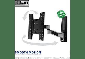 TITAN SUPER SMOOTH FULL MOTION Wandhalterung, max. 55 Zoll, Ausziehbar, Neigbar, Schwenkbar, Schwarz