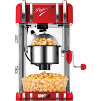 UNOLD Retro 48535 Popcornmaker Rot/Chrom