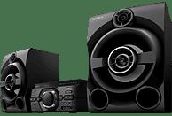 SONY MHC-M60D Party Kompaktanlage (CD, CD-R, CD-RW, 8-cm-Disc (CD), 8-cm-Disc (DVD), DVD, DVD+R, DVD-R, DVD+R DL, DVD+RW, DVD-RW (Video), VCD, Schwarz)