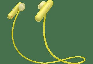 SONY WI-SP500, In-ear Kopfhörer Bluetooth Gelb