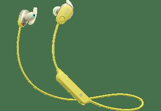 SONY WI-SP600N, In-ear Kopfhörer Bluetooth Gelb