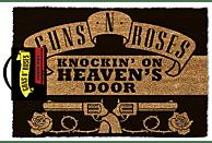 PYRAMID INTERNATIONAL Guns N' Roses Fußmatte Knockin' on Heaven's Door Merchandise, Schwarz/Braun