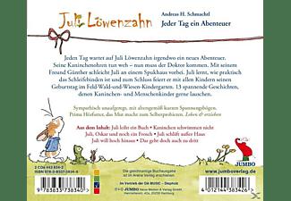 ANDREAS H. Schmachtl - Juli Löwenzahn.Jeder Tag Ein Abenteuer Folge 1+2  - (CD)