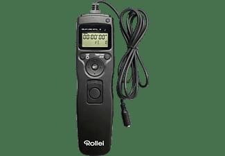 ROLLEI 28049, Kabelfernauslöser, Schwarz, passend für Panasonic