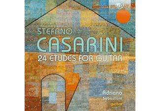 Adriano Sebastiani - Casarini-24 Etudes For Guitar - (CD)