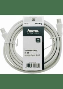 50cm DVB-C Antennenkabel Antennen Kabel 75Ohm HD UHD Fernsehkabel 70dB geschirmt
