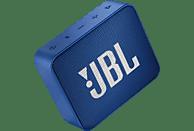 JBL GO2 Bluetooth Lautsprecher, Blau, Wasserfest