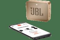 JBL GO2 Bluetooth Lautsprecher, Champagner, Wasserfest