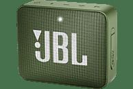 JBL GO2 Bluetooth Lautsprecher, Grün, Wasserfest