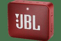 JBL GO2 Bluetooth Lautsprecher, Rot, Wasserfest
