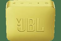 JBL GO2 Bluetooth Lautsprecher, Gelb, Wasserfest