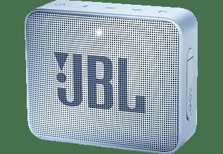JBL GO2 Bluetooth Lautsprecher, Hellblau, Wasserfest