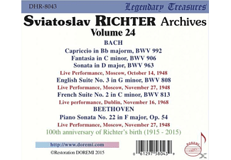 Sviatoslav Richter - Sviatoslav Richter | Legendary Treasures-Vol.24  - (CD)