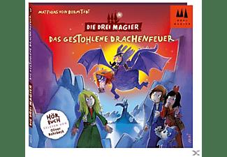 Die Drei Magier - Hörbuch-Das gestohlene Drachenfeuer  - (CD)