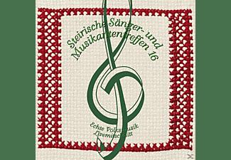 Sumt Diverse Interpreten - Steir.Sänger-& Musikantentreffen 16  - (CD)