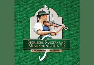 Sumt Diverse Interpreten - Steir.Sänger-& Musikantentreffen 20  - (CD)