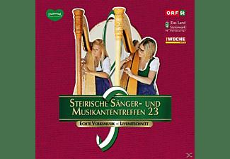 Sumt Diverse Interpreten - Steir.Sänger-& Musikantentreffen 23  - (CD)