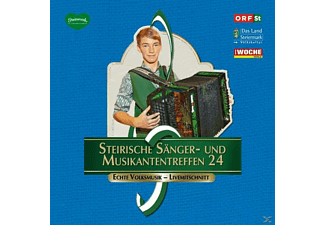Sumt Diverse Interpreten - Steir.Sänger-& Musikantentreffen 24  - (CD)