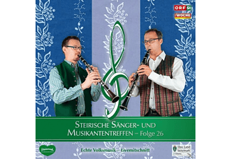 Sumt Diverse Interpreten - Steir.Sänger-& Musikantentreffen 26  - (CD)