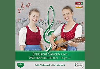 Sumt Diverse Interpreten - Steir.Sänger-& Musikantentreffen 27  - (CD)
