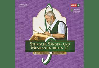 Sumt Diverse Interpreten - Steir.Sänger-& Musikantentreffen 21  - (CD)