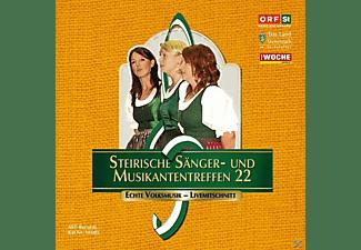 Sumt Diverse Interpreten - Steir.Sänger-& Musikantentreffen 22  - (CD)