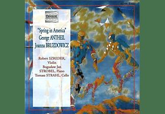 Szreder, Strobel, Strahl, Szreder/Strobel/Strahl - Spring In America  - (CD)