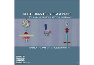 Dominica Eyckmans, Frederik Croene, Eyckmans,Dominica/Croene,Frederik - Reflections For Viola+Piano  - (CD)