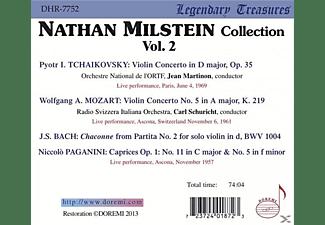 Orchestre National De L'ortf Nathan Milstein (vl) - Nathan Milstein | Legendary Treasures-Vol.2  - (CD)