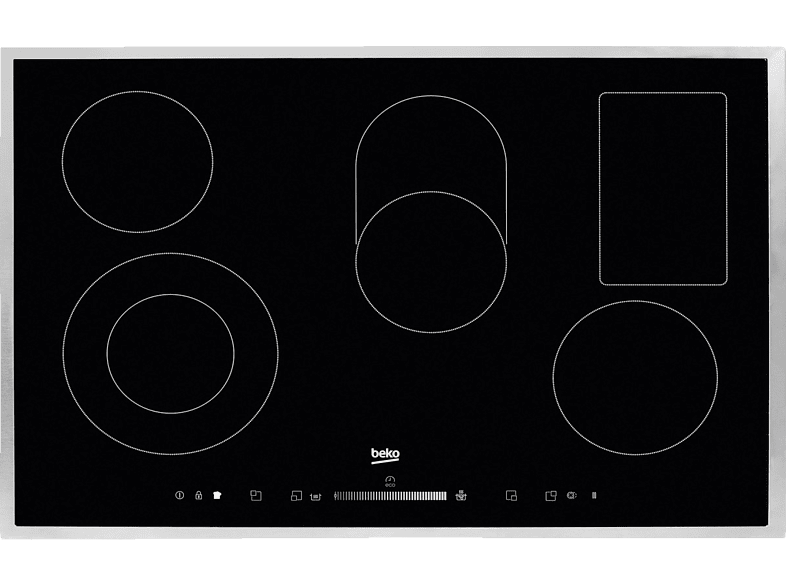 BEKO HIC 85502 TX, Elektrokochfeld (77 cm breit, 5)