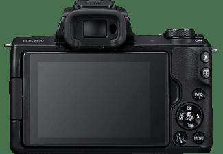 CANON EOS M50 Body Systemkamera, 7,5 cm Display Touchscreen, WLAN