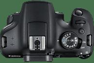 CANON EOS 2000D Kit Spiegelreflexkamera, 24.1 Megapixel, Full HD, 18-55 mm Objektiv (EF-S, IS II), WLAN, Schwarz