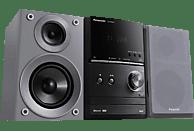 PANASONIC SC-PM602 Kompaktanlage (USB, CD, CD-R, CD-RW, MP3, Grau/Schwarz)