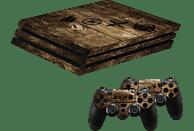 "HAMA PlayStation 4 PRO ""Wood"" , Design-Skin, Holzfarben"