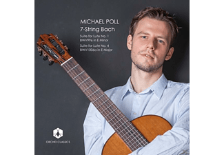 Michael Poll - 7-String Bach - (CD)
