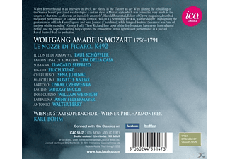 Karl/wiener Philharmoniker/staatsopernchor Böhm - Le Nozze di Figaro  - (CD)