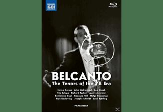 Caruso/McCormack/Slezak/Schipa/Tauber/+ - Belcanto-The Tenors of the 78 Era  - (Blu-ray + CD)