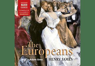 Adam Sims - The Europeans  - (CD)