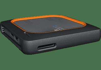 WD My Passport™ Wireless SSD 2 TB Festplatte, 2 TB SSD, 2,5 Zoll, extern, Schwarz/Orange