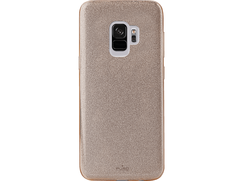 PURO Shine Over , Backcover, Samsung, Galaxy S9, Gold