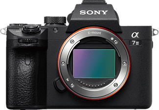 SONY Alpha 7 M3 Body (ILCE-7M3) Systemkamera, 7,6 cm Display Touchscreen, WLAN