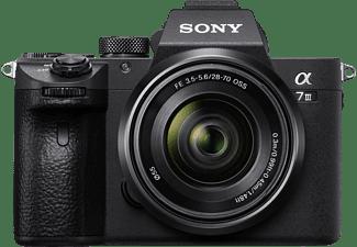 SONY Systemkamera Alpha 7 III mit Objektiv AF E 28-70mm 3.5-5.6 OSS, schwarz (ILCE-7M3K)