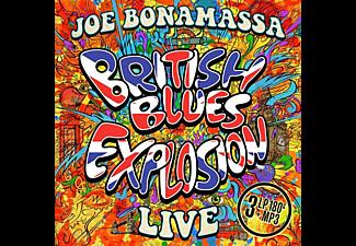 Joe Bonamassa - British Blues Explosion Live (Black 180Gr 3LP+MP3)  - (Vinyl)