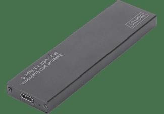 DIGITUS DA 71115 SSD - M.2 - USB 3.1 Typ-C - SATA III,, Festplattengehäuse