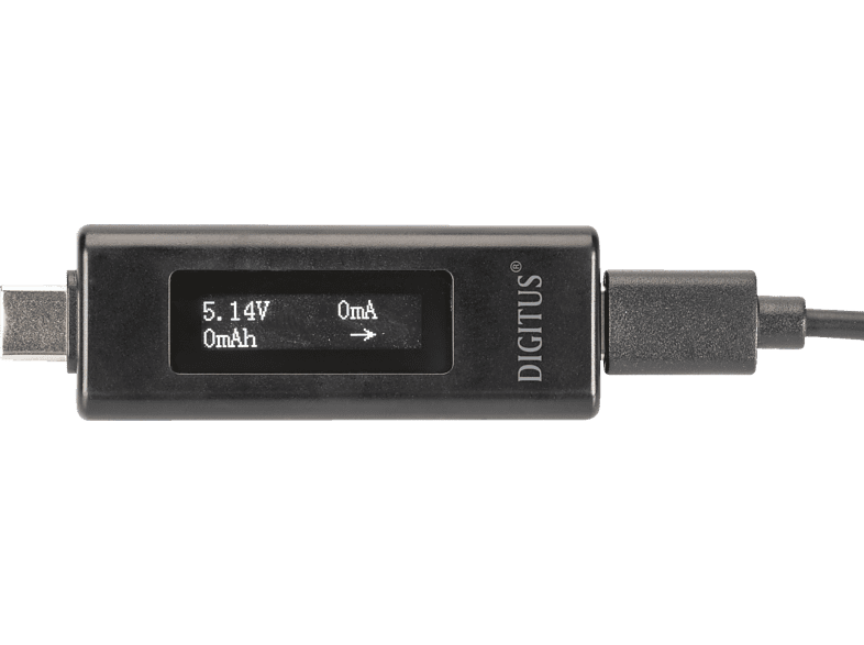 DIGITUS DA 70612  USB Typ-C Power Monitor, Spannungsprüfer