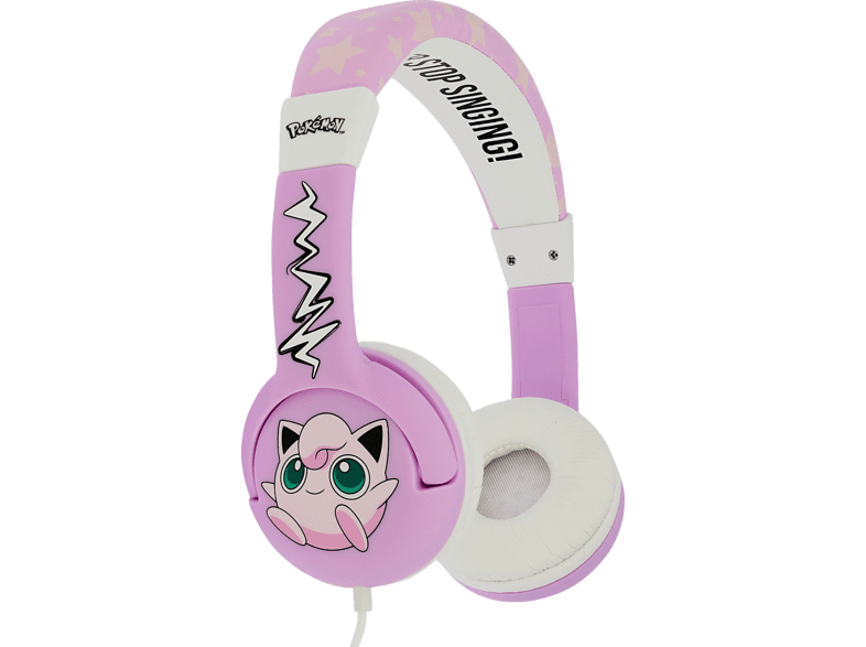 OTL Pokemon Jigglypuff Junior, On-ear Kopfhörer  Pink
