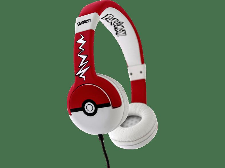 OTL Pokemon Pokeball Junior, On-ear Kopfhörer  Schwarz