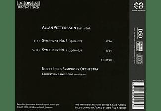 Christian Lindberg - Sinfonien 5 und 7  - (SACD)